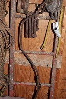 snatch blocks & pulleys (5pcs)