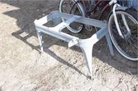 galvanized wash tub stand