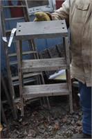 aluminum 3 step - step ladder