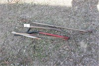 sod cutter, weed whacker & grabber - 6pcs