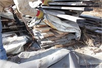 lumber - 10-16' oak or ash rough sawn planks