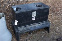 """18"""" x3' x18"""" tool box on poly stand"""