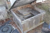 Wood crate & lumber cut offs