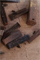 Splitting wedges - various sizes (12pcs)