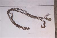 10' chain w/ 2 hooks