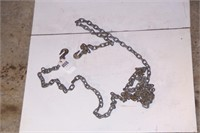 20' chain w/ 2 hooks