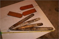 """Chainsaw bars - 27"""" to 39"""" 4pcs"""