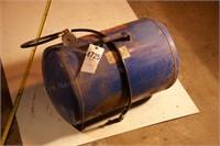 blue 8gal portable air tank