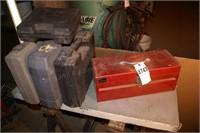 empty power tool boxes 5pcs
