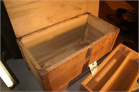 Wooden tool crate