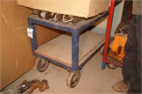 Rolling Cart w/ large casters