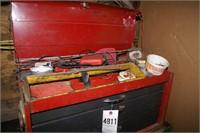metal tool boxes (2pcs)