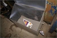 Floor Dry & Steel container