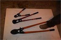 3 bolt cutters & bucket