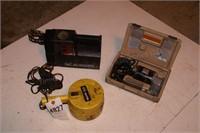 12v spotlight & 2 roadside air compressors