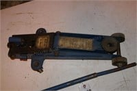 blue floor jack 2 ton