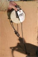 Retractable extension cord