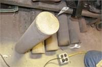 solid aluminum cylinders (7pcs)