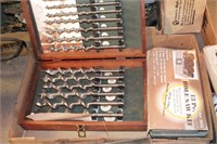 wood screw bit set & hole saw set
