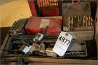 box of drill bits - over 30pcs