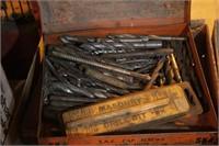 Drill bits - assorted - over 30pcs