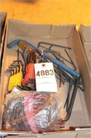 Allen wrenches - various sizes over 30pcs