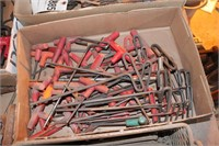 Allen wrenches - T handle - over 30 pcs