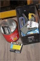 staple guns & staples - swing staplers, 9pcs