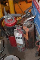 fire extinguishers - pcs