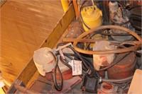 sump pumps - 7pcs