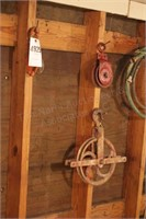 metal rope pulleys (5pcs)