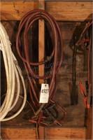 heavy duty jumper cables (needs repair)