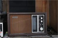 stereo equipment - dual cassette deck, turntable