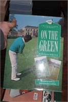 Golfer's Lot - putter game, spike wrench & book