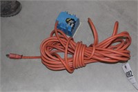 Extention cord w/ 4 outlet recepticle on end.