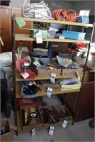 Metal shelving - 5 shelves