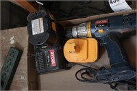 Ryobi battery powered 14v. drill