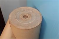 Roll of contractors paper - brown paper 3' wide