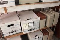 Sheet music - Organ - 5 boxes