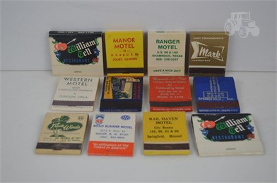 12] ROUTE 66 MATCHBOOKS Other Items For Sale 1 Listings