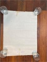 """(2) Jan 1973 Quaker Hill """"48"""" Blueprints"""
