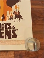 """""""Cowboys and Aliens"""" Artist Proof"""