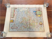 "1983 ""Saxton's Map of England and"