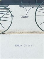 """Break No. 363"" Framed Art"