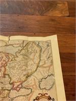 Map of Europe from Mercator Hondius