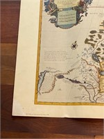 Map of The Great Lakes by Guillaume