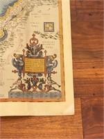 """""""Theatrum Orbis Terrarum"""" 1570 Map"""