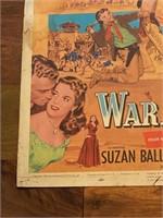 """1954 """"War Arrow"""" Universal Pictures"""