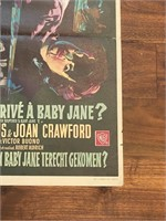 """Qu'est-Il Arrive a Baby Jane?"" Warner"