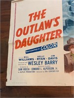 "1954 ""The Outlaw's Daughter"" 20th"